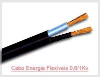 Cabo Energia Flexíveis 0,6/1Kv