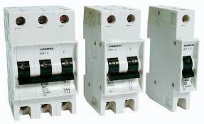 Disjuntor IEC unipolar 6A-B 440V BR 5KA/220V – Siemens